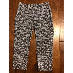 Navy Skinny Fit Ankle Pants - Avery